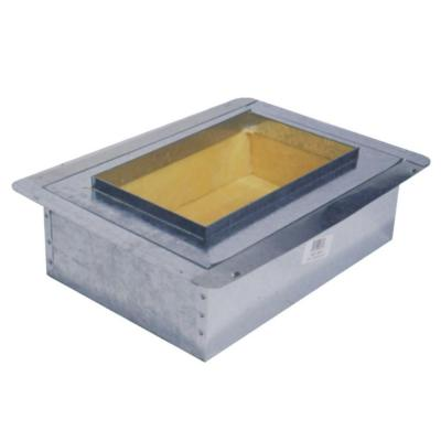 8 in. x 8 in. Duct Board Insulated Register Box - R6